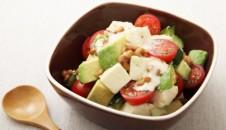 アボカド納豆×豆腐サラダ